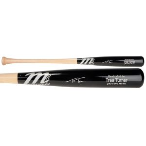 Autographed Washington Nationals Trea Turner Fanatics Authentic Marucci Game Model Bat