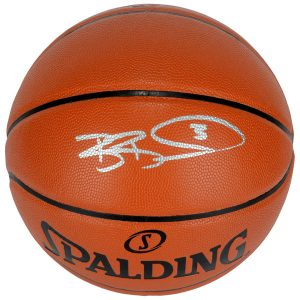 Autographed Washington Wizards Bradley Beal Fanatics Authentic Indoor/Outdoor Basketball