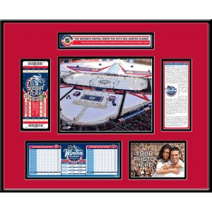Chicago Blackhawks vs. Washington Capitals 2015 NHL Winter Classic Ticket Frame