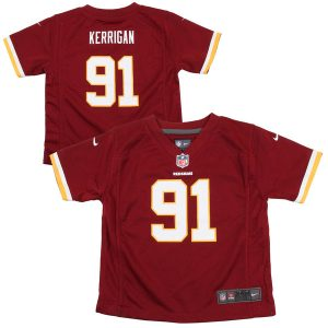 Infant Washington Redskins Ryan Kerrigan Nike Burgundy Team Color Game Jersey