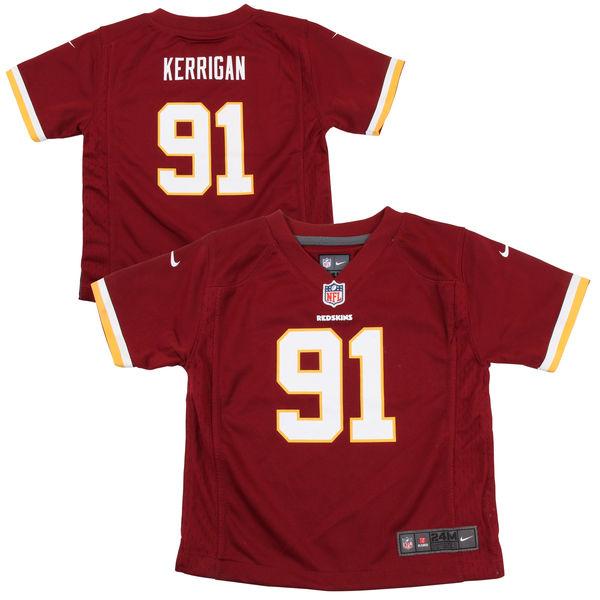 online store f5d78 02133 Infant Washington Redskins Ryan Kerrigan Nike Burgundy Team Color Game  Jersey