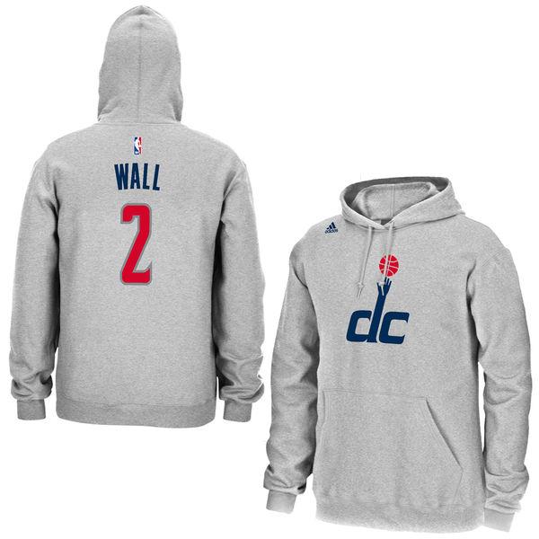 hot sales 2e18e f090b John Wall Washington Wizards adidas Name & Number Pullover Hoodie