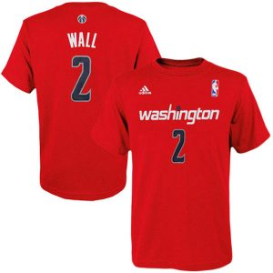 John Wall Washington Wizards adidas Youth Game Time Flat Name & Number T-Shirt