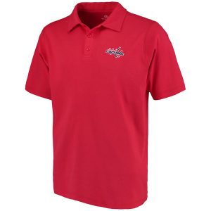 Men's Washington Capitals Fanatics Branded Red Primary Embroidered Polo