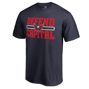 Men's Washington Capitals Navy Hometown Collection Defend T-Shirt