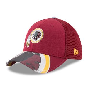 Men's Washington Redskins New Era Burgundy 2017 NFL Draft On Stage 39THIRTY Flex Hat