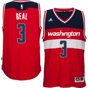 Men's Washington Wizards Bradley Beal adidas Red Player Swingman Road Jersey