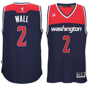 Men's Washington Wizards John Wall adidas Navy Player Swingman Alternate Jersey