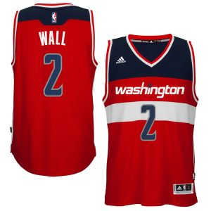 Men's Washington Wizards John Wall adidas Red Player Swingman Road Jersey