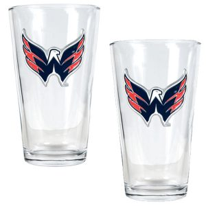 Washington Capitals 16oz. Pint Glass Set