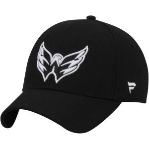 Washington Capitals Blackout Alpha Structured Adjustable Hat