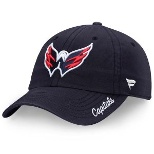 Washington Capitals Fanatics Branded Women's Fundamental Adjustable Hat