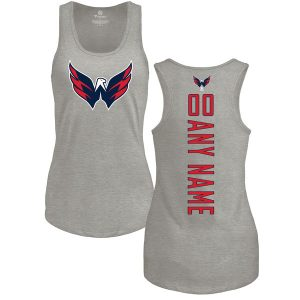 Washington Capitals Fanatics Branded Women's Personalized Backer Tri-Blend Tank Top