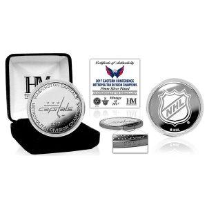 Washington Capitals Highland Mint 2017 NHL Metropolitan Division Champions Silver Mint Coin