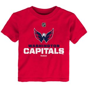 Washington Capitals Reebok Preschool Clean Cut T-Shirt