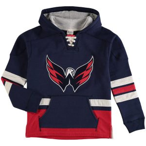 Washington Capitals Reebok Youth Retro Skate Hoodie