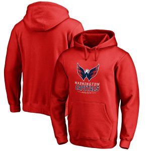 Washington Capitals Team Lockup Pullover Hoodie
