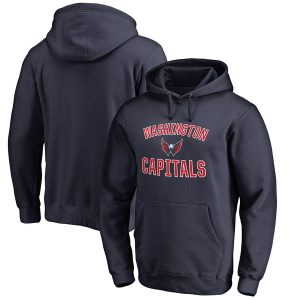 Washington Capitals Victory Arch Fleece Pullover Hoodie