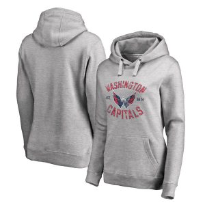 Washington Capitals Women's Heritage Pullover Hoodie