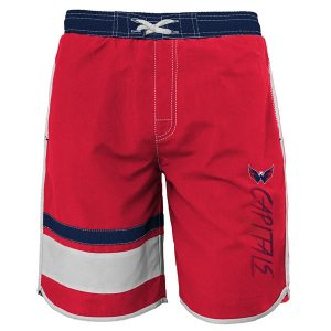 Washington Capitals Youth Color Block Swim Trunks