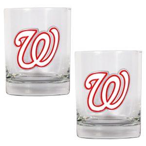 Washington Nationals 14oz. Rocks Glass Set