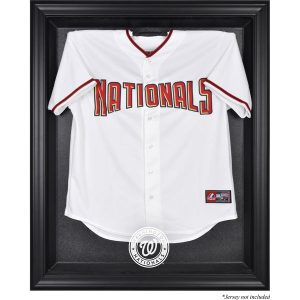Washington Nationals Fanatics Authentic Black Framed Logo Jersey Display Case