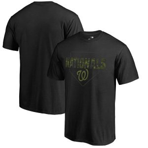Washington Nationals Fanatics Branded Big & Tall Memorial Camo T-Shirt