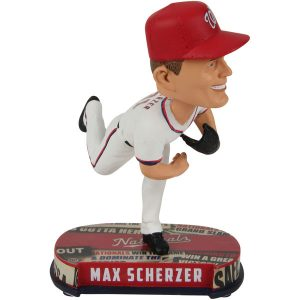 Washington Nationals Max Scherzer Headline Bobblehead