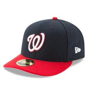 Washington Nationals On-Field Low Profile 59FIFTY Fitted Hat