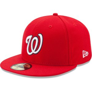 Washington Nationals New Era Game Authentic Collection On-Field 59FIFTY Fitted Hat