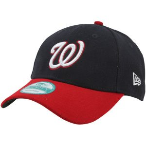 Washington Nationals New Era Men's League 9Forty Adjustable Hat