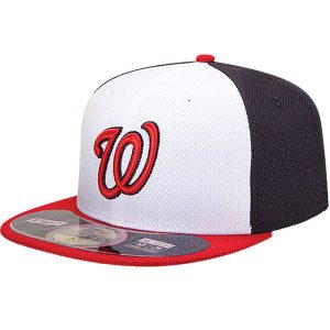 Washington Nationals New Era On Field Diamond Era 59FIFTY Fitted Hat