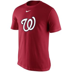 Washington Nationals Nike Batting Practice Logo Legend Performance T-Shirt