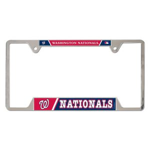 Washington Nationals WinCraft Metal License Plate Frame