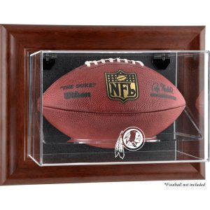Washington Redskins Fanatics Authentic Brown Framed Wall-Mountable Football Display Case