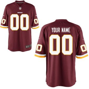 Washington Redskins Nike Custom Game Jersey