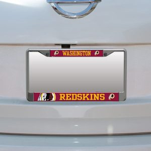 Washington Redskins Small Over Large Mega License Plate Frame
