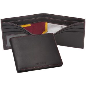 Washington Redskins Tokens & Icons Game-Used Uniform Leather Wallet