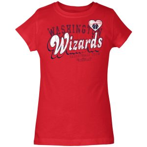 Washington Wizards 5th & Ocean by New Era Girls Youth Baby Jersey T-Shirt