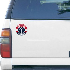 Washington Wizards 6″ Team Logo Car Magnet
