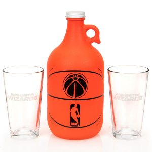 Washington Wizards Basketball Jug & Pint Glass Mixed Box Set