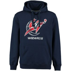 Washington Wizards Distressed Hoodie