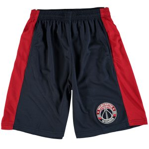 Washington Wizards Majestic Youth Stripe Shorts