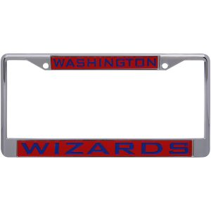 Washington Wizards WinCraft Laser Inlaid Metal License Plate Frame
