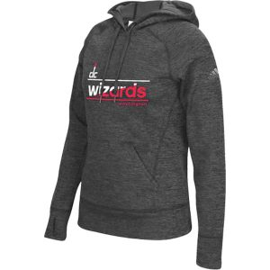Washington Wizards adidas Women's Color Slant climawarm Team Issue Hoodie