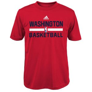 Washington Wizards adidas Youth Practice climalite T-Shirt