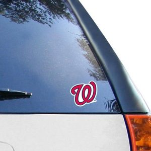 WinCraft Washington Nationals 4″ x 4″ Color Perfect Cut Decal
