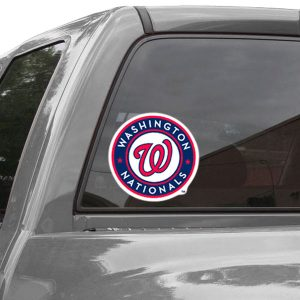 WinCraft Washington Nationals 8 x 8 Color Team Logo Car Decal