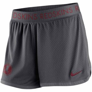 Women's Washington Redskins Nike Gray Ultimate Mesh Shorts
