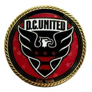 D.C. United Logo Gold Coin